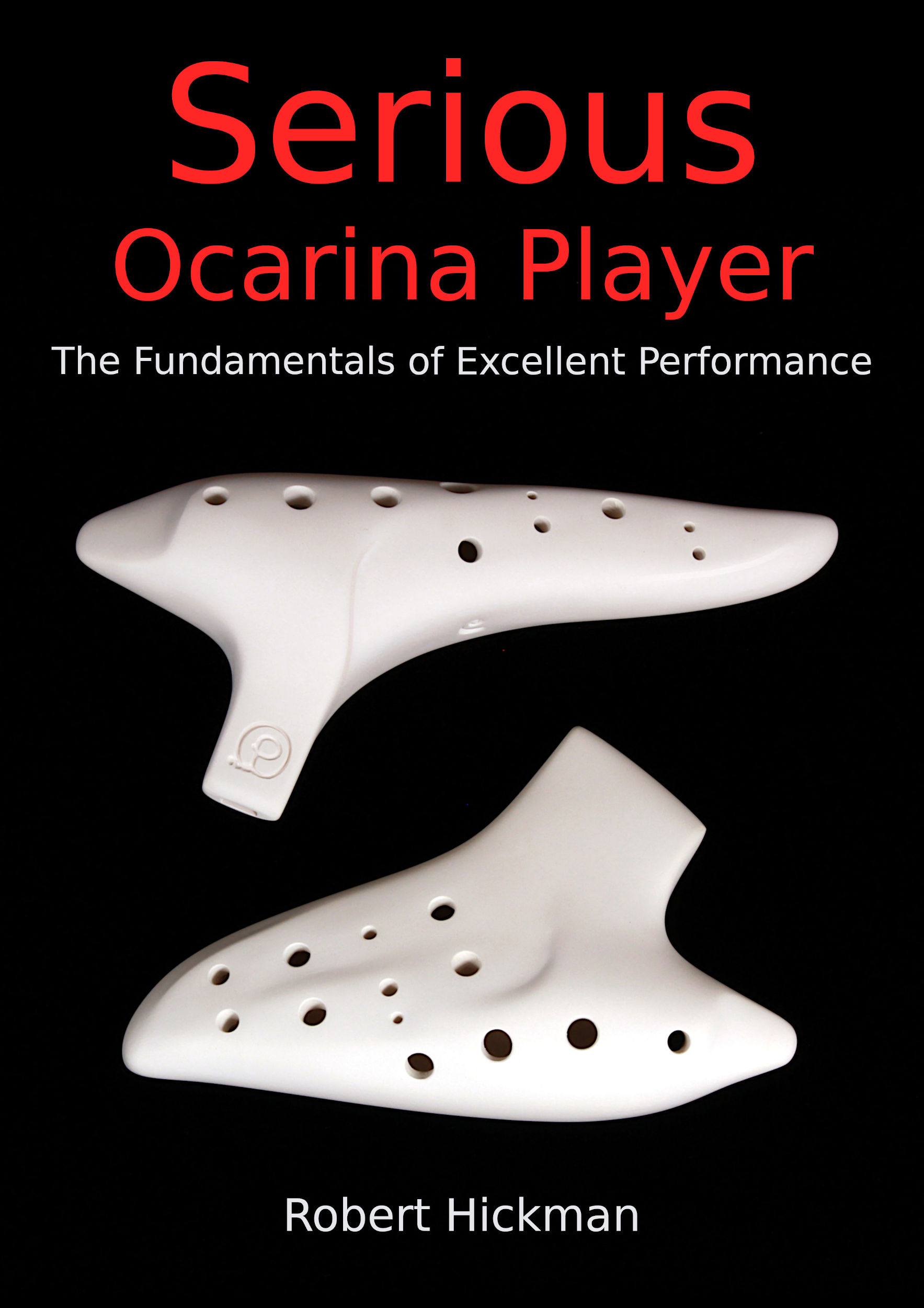 Serious Ocarina Player book cover image